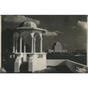 1928 Press Photo View Of Home of JC Penney Miami Florida - RSC99021
