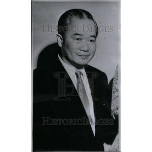 1963 Press Photo Tran Van Chuong ambassador