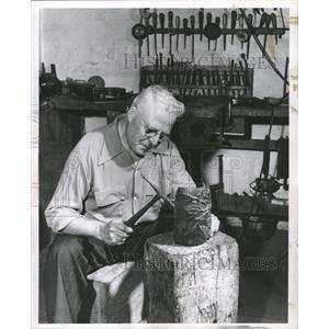 1952 Press Photo Michael D. Purin Brass - RRW45741