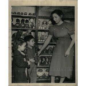 1939 Press Photo Toy Library Riverside school Pueblo - RRX65165