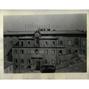 1934 Press Photo Castel Gandolgo Pope Vatican Villas