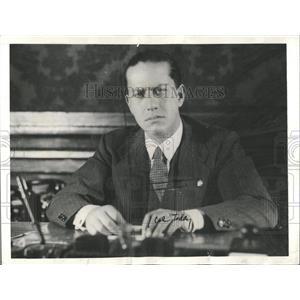 1936 Press Photo Galeazzo Ciano - RRX84907