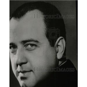 1937 Press Photo Richard Crooks American Operatic Tenor - RRW78783