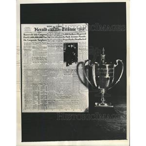 1936 Press Photo NY Paper Typography Herald Tribune - RRX89009