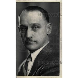 1936 Press Photo Allen Brown Green Bay American packers - RRW81949