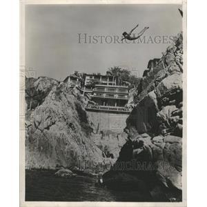 1954 Press Photo Acapulco Pacific Coast Mexico - RRX89323