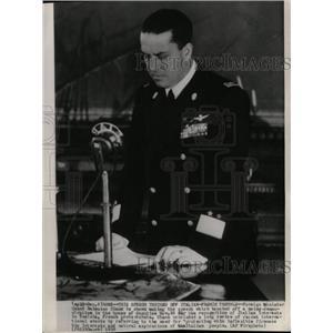 1938 Press Photo Count Ciano, Italian Minister. - RRX72905