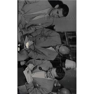 1948 Press Photo Hiss Accused Spying Press Conference - RRW99719