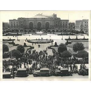 1936 Press Photo Labor Demonstrations San Francisco - RRX82323