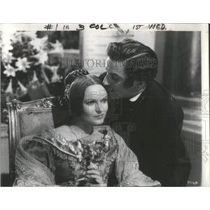 1940 Press Photo Anna Neagle Anton Walbrook Queen of Destiny - RSC55663