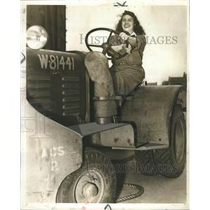 1942 Press Photo Michigan National Guard Helen Trumbo - RRW33051