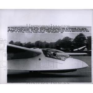 1963 Press Photo Great Britain Duke Edinburgh Capstan