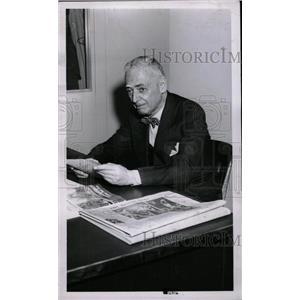 1958 Press Photo H. G. Salsinger Detroit News Editor - RRW72351