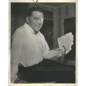 1939 Press Photo Floyd Phillips Gibbons Chicago Tribune War Correspondent