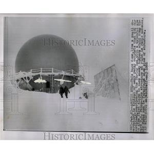 1955 Press Photo Observatory Radar Bering Sea Northland - RRW67179