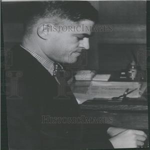 1937 Press Photo Alan Gould AP Sports Writer