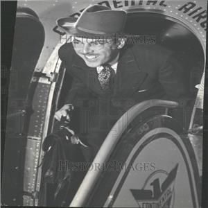 1943 Press Photo Vace Graham Air Tour