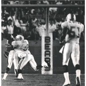 1988 Press Photo Wendell Davis Chicago Bears Player