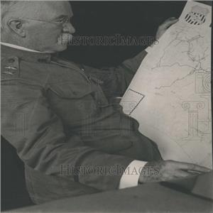 1917 Press Photo Major General William H Carter
