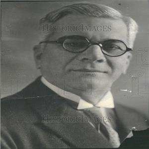 1933 Press Photo President Gerardo Machado Cuba