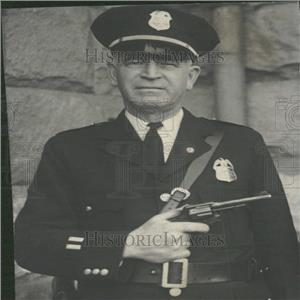 1933 Press Photo Capt. Frank Campbell Police