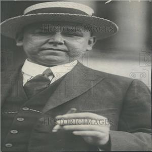 1922 Photo Mexican Finance Minister Adolfo De La Huerta - RRY26403