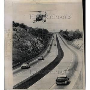 1958 Press Photo Pennsylvania National Guard Helicopter - RRW22821