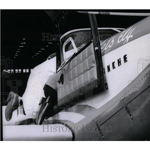1958 Press Photo Max Conrad American Aviator - RRX53835