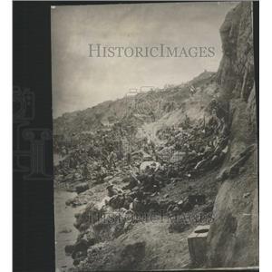 1915 Press Photo CLIFFS LALA BABA