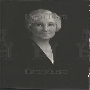 1933 Press Photo Mrs. A.G. Fish President  Women Club