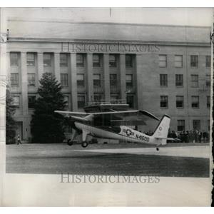 1961 Press Photo L28 Helio-Courrier Takes Off - RRW56957