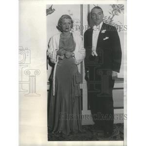 1931 Press Photo Marquis de la Falaise French Nobleman Film Director Producer