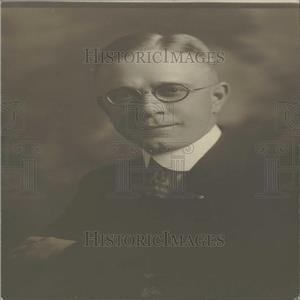 1918 Press Photo Frank W.Frewen, Denver Architect