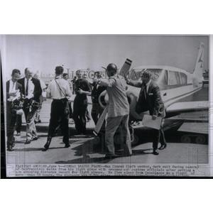 1959 Press Photo Plane Max Conrad San Francisco - RRX53867