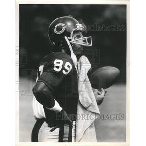 1980 Press Photo James Scott at Bears training Camp - RSC49423