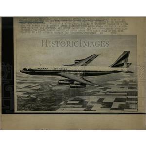 1972 Press Photo London Paris Hijackers Midair Airline - RRW88431