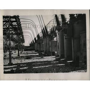 1947 Press Photo Nebraska Power Pattern - RRW90153
