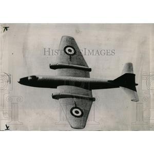 1952 Press Photo British Canberra Jet Bomber - RRW56675