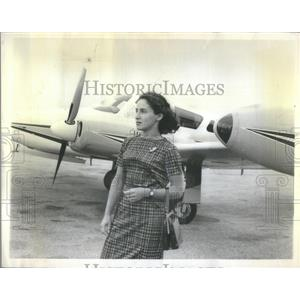 1963 Press Photo Mrs. Russman, Licensed plane pilot - RSC66155