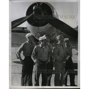 1951 Press Photo Denver weekend warriors squadron plane - RRX69417