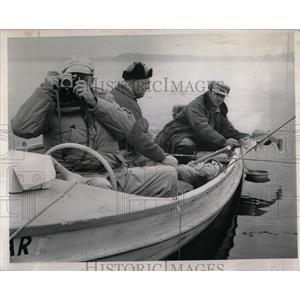1962 Press Photo Fishermen got Walleye at Detroit Lakes