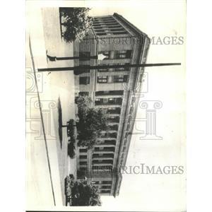 1935 Press Photo East Baton Rouge Courthouse Lousiana - RRX93951