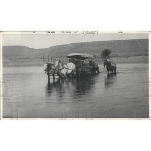 1905 Press Photo wagon fords Green River Wyoming - RRX99553