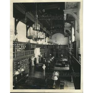 1932 Press Photo Folgers Shakespeare Library Washington - RRX89189