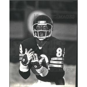 1978 Press Photo James Scott Chicago Bears Football Player - RSC49431