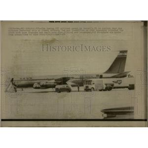 1968 Press Photo Jetliner Athens Airport Israel El Al - RRW04611