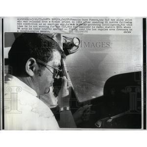 1971 Press Photo Francis Gary Powers Soviet Prison spy - RRX55621