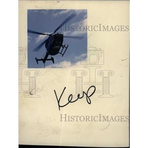 1986 Press Photo Detroit Hospital Helicopter - RRW71147