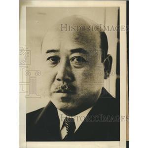 1942 Press Photo Masayuki Tani Japanese Foreign Minister World War II