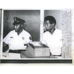 1967 Press Photo George Ware, Stokley Carmichael aide charged with sedition.